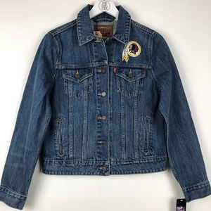 NWT Levi's® NFL Denim Trucker Jacket